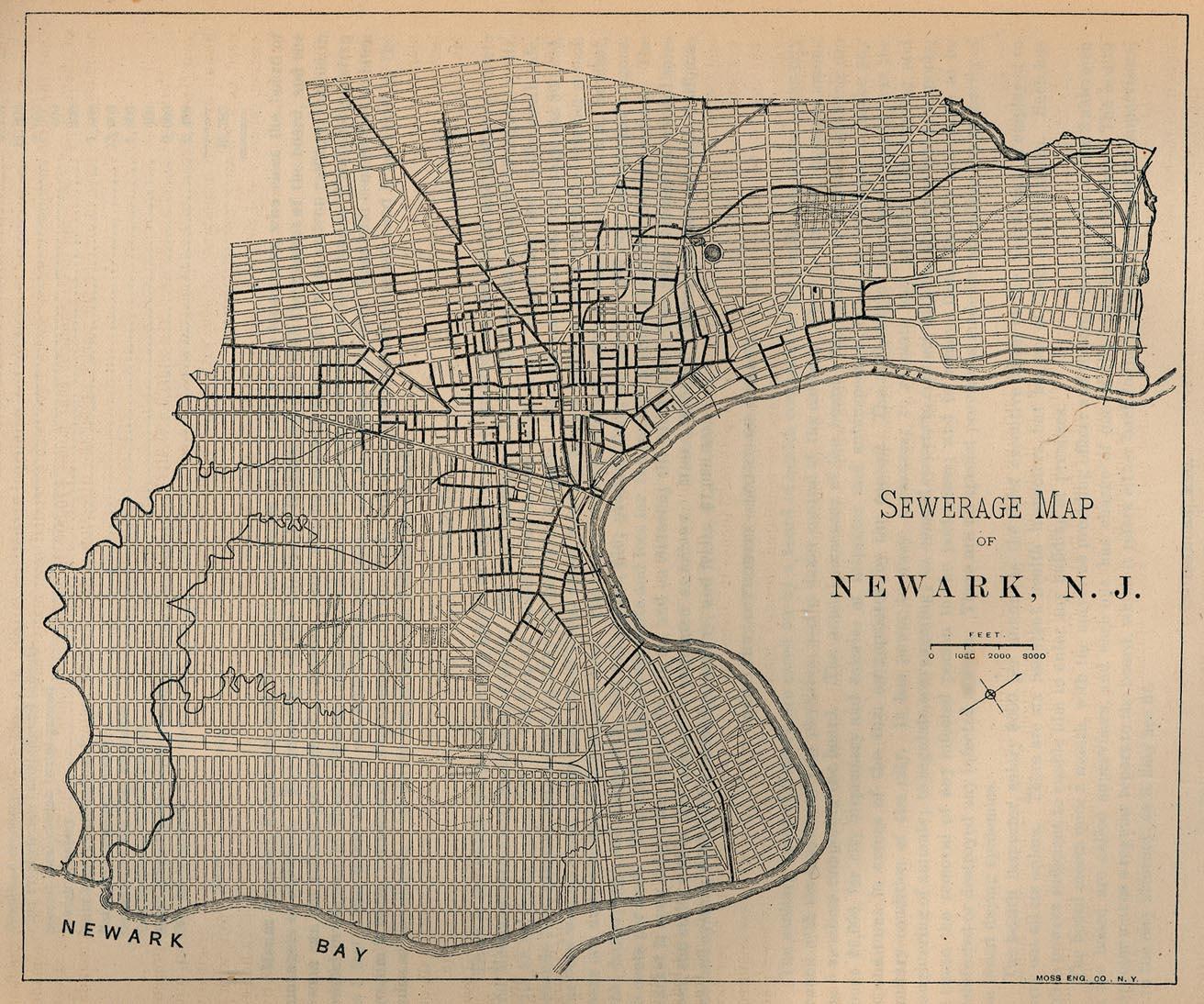 Maps of Newark New Jersey Barbara and Leonard Littman