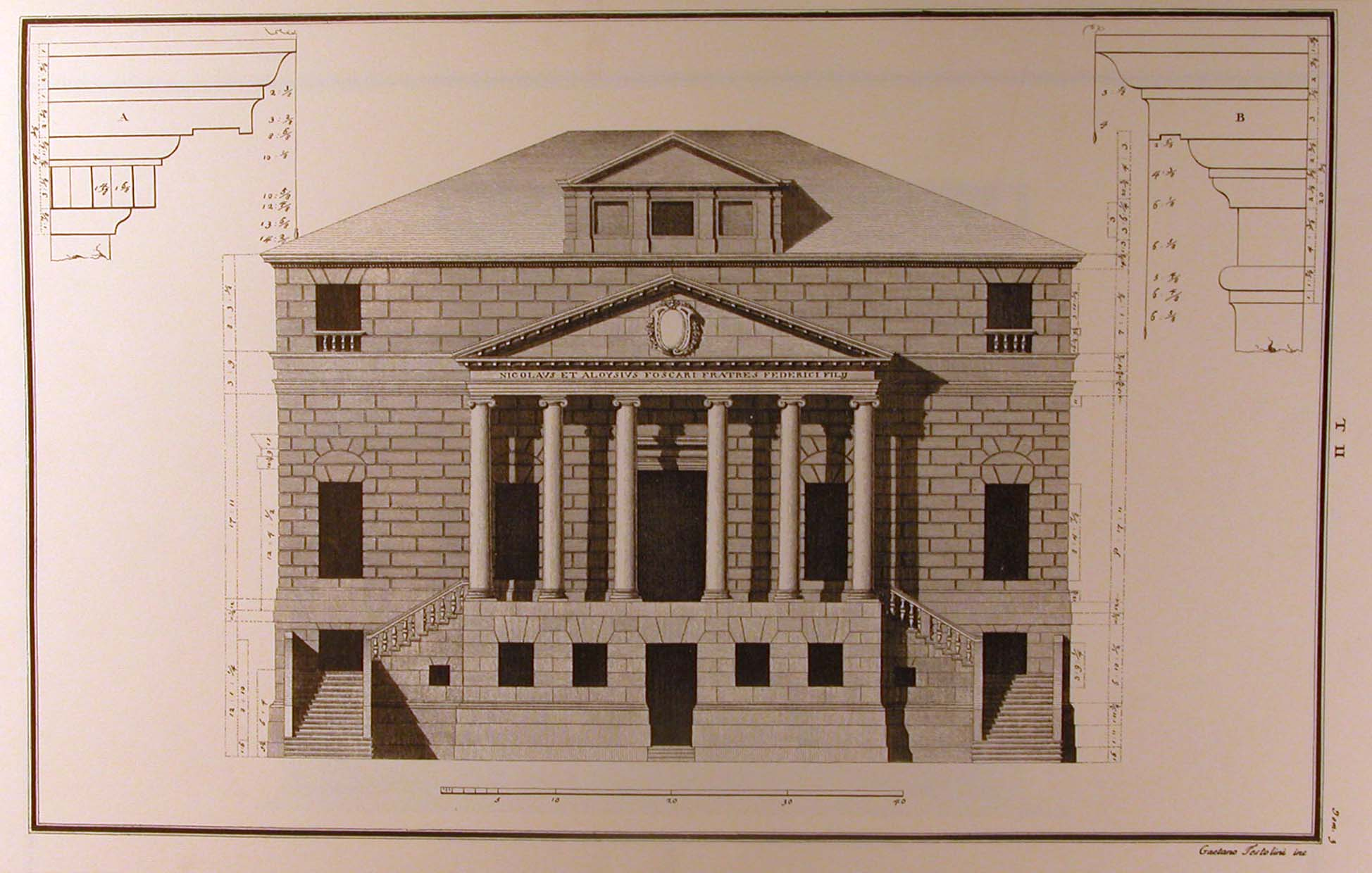 Wonderful Architectural Drawing Prints And Ornament Drawings